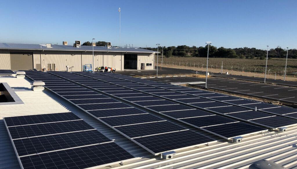 City of Bunbury Depot Commercial Solar Installation