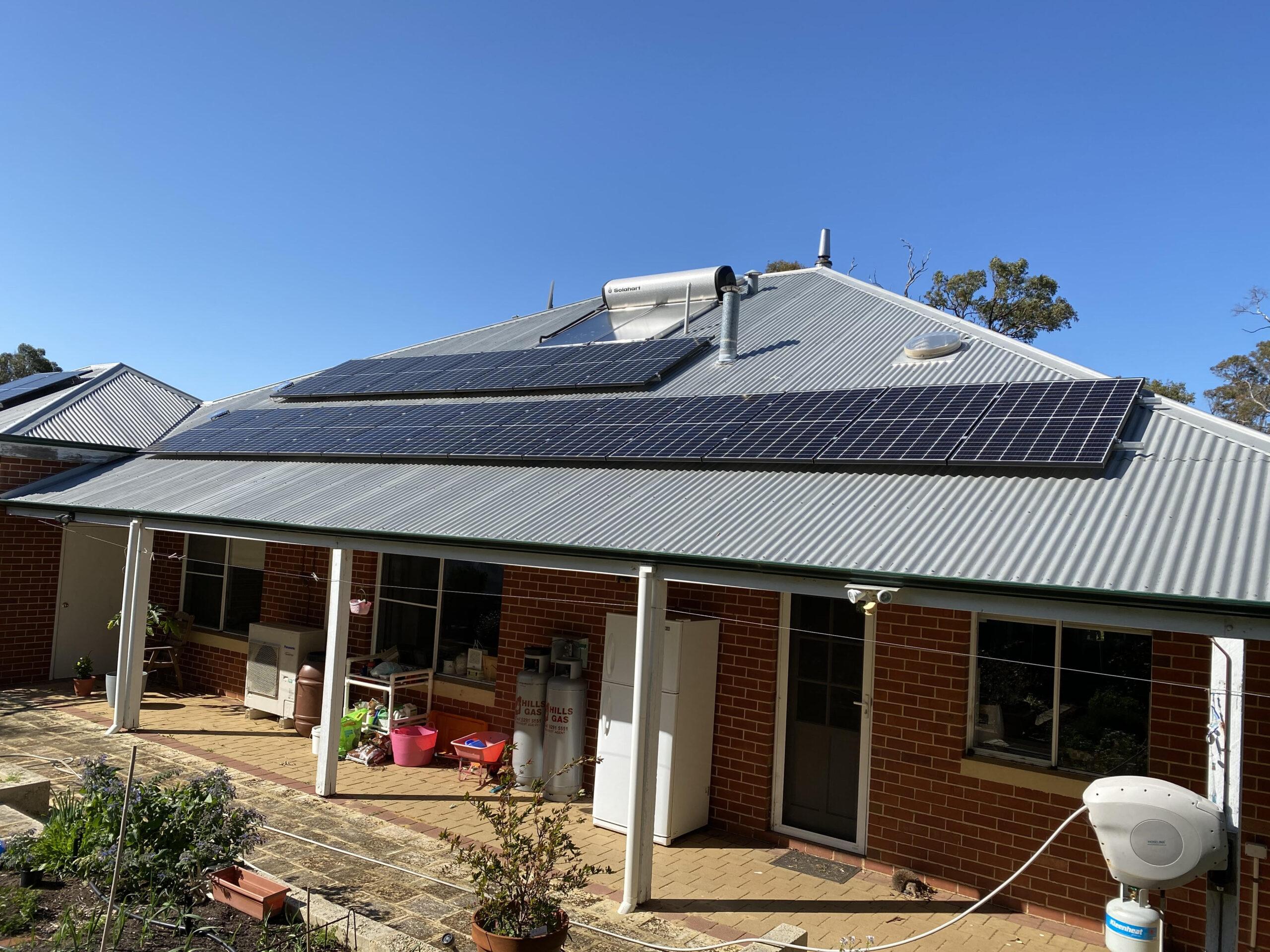 Ferguson valley Solar Installation