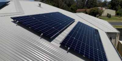 Glen Iris Solar Installation